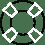 ikona koła ratunkowego