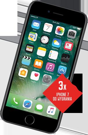 3x iPhone 7 do wygrania